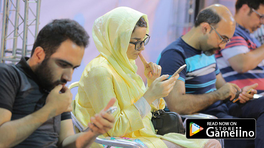 wonen in iran's video game championship 2019